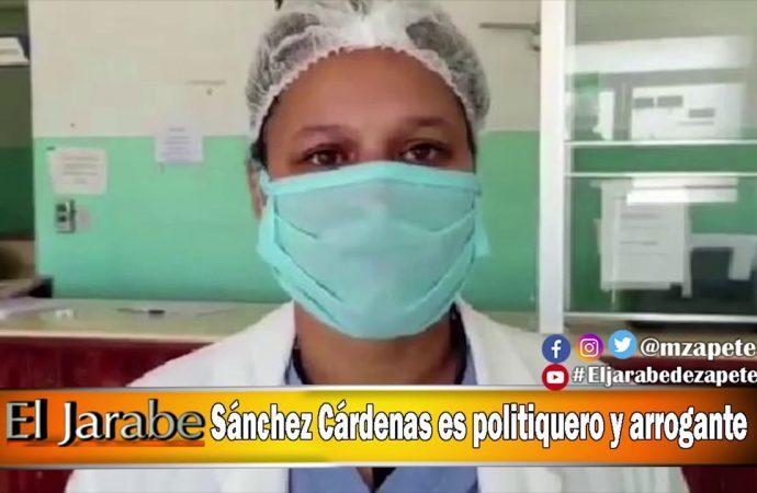 Sánchez Cardenas es politiquero y arrogante   El Jarabe Seg-2 29/04/20