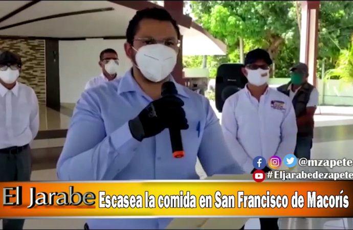 Escasea la comida en San Francisco de Macorís | El Jarabe Seg-2 28/04/20
