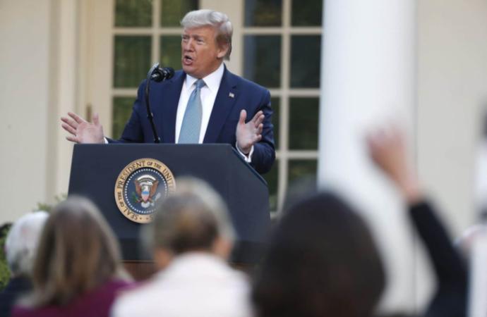 Trump amenaza ahora con cerrar el Congreso de EEUU