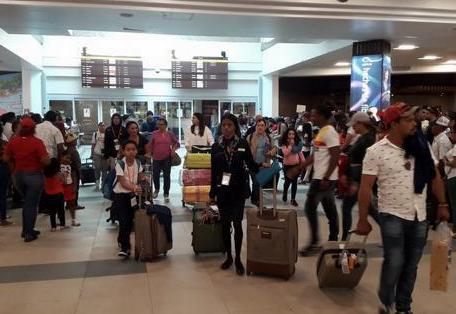 Al menos 73,579 pasajeros entraron por los aeropuertos del país en los primeros 19 días de marzo