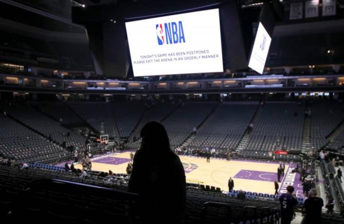 La NBA retendrá un 25% del salario de jugadores a partir del 15 de mayo