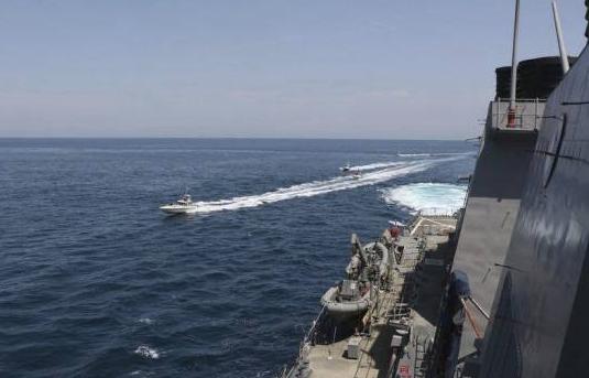 Irán acusa a EEUU de incidente naval