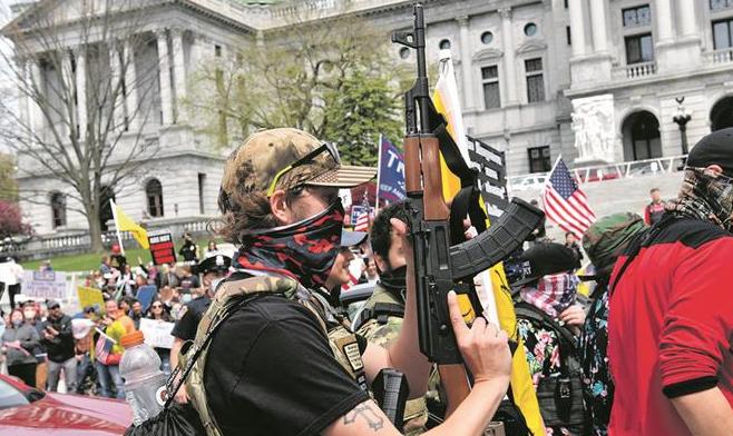Nuevas protestas en EEUU contra las restricciones impuestas por la pandemia de coronavirus