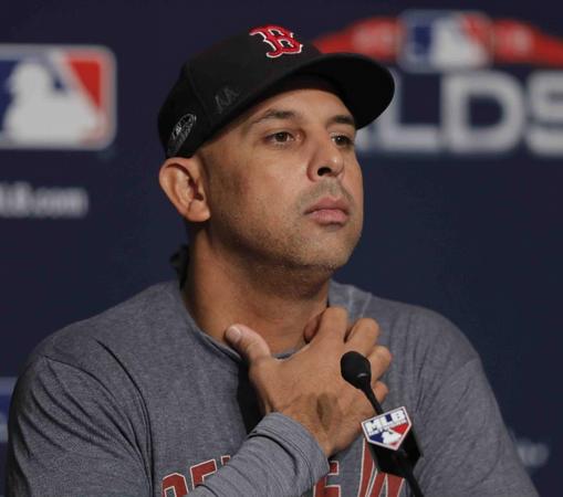 """Cora """"aliviado"""" con resultado investigación de MLB en Boston"""
