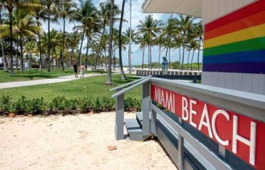 Las playas de Miami Beach seguirán cerradas hasta junio