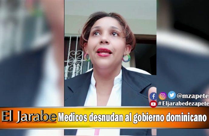 Medicos desnudan al gobierno dominicano | El Jarabe Seg-2 15/04/20
