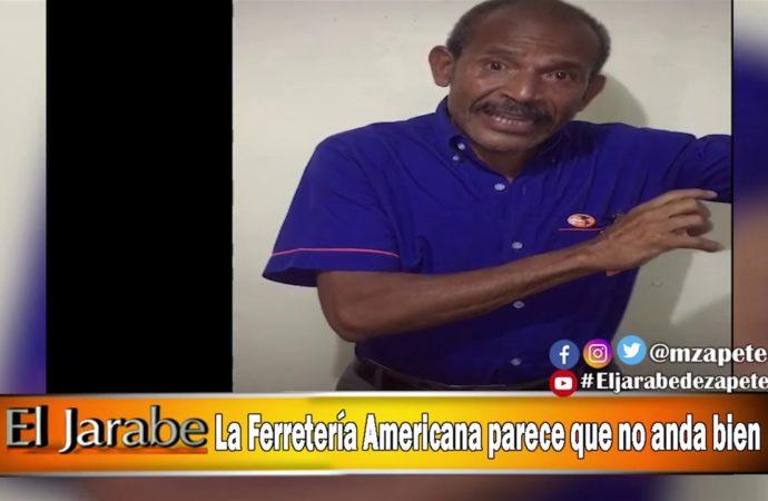 La Ferreteria Americana parece que no anda bien | El Jarabe Seg-3 21/04/20