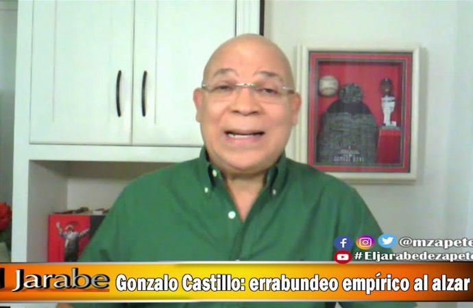 Gonzalo Castillo: errabundeo empírico al alzar   El Jarabe Seg-3 25/05/20