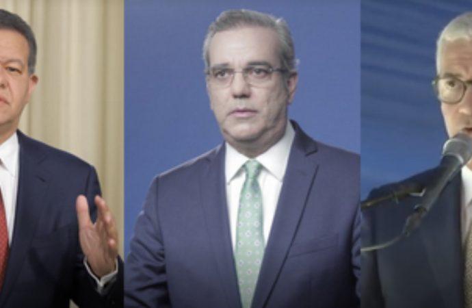 Encuesta Mark Penn: Luis Abinader 39%, Gonzalo Castillo 37% y Leonel Fernández 10%
