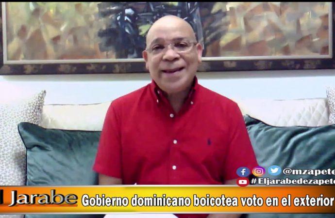 Gobierno dominicano boicotea voto en el exterior | El Jarabe Seg-2 15/05/20