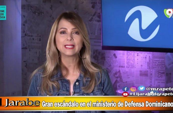 Gran escandalo en el ministerio de Defensa Dominicano   El Jarabe Seg-3 11/05/20