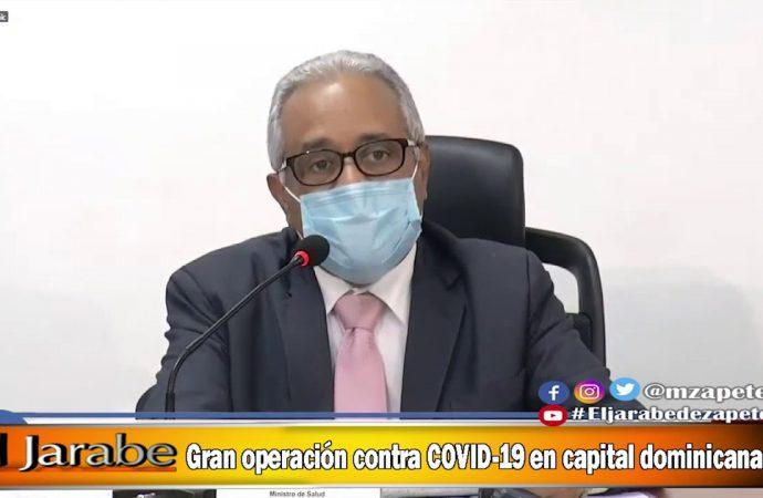 Gran operación contra COVID-19 en capital dominicana   El Jarabe Seg-1 14/05/20