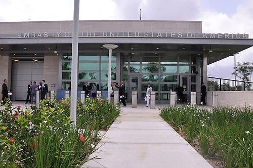 Embajada de Estados Unidos trabaja en protocolo para reapertura