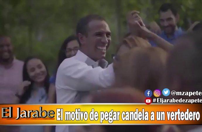 El motivo de pegar candela a un vertedero | El Jarabe Seg-2 04/05/20