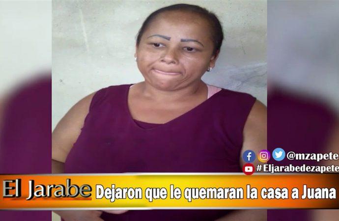 Dejaron que le quemaran la casa a Juana | El Jarabe Seg-1 30/04/20
