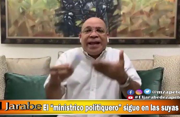 """El """"ministrico politiquero"""" sigue en las suyas   El Jarabe Seg-2 07/05/20"""