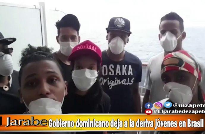 Gobierno dominicano deja a la deriva jóvenes en Brasil | El Jarabe Seg-1 06/05/20