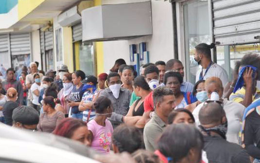 En Santo Domingo se registraron 100 nuevos casos de coronavirus en 24 horas