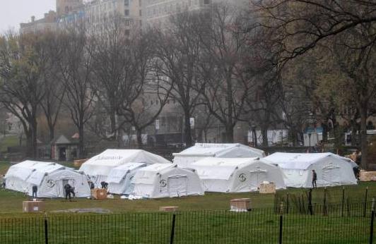 Hospital del Central Park cerrará ante caída en los casos de coivid-19 en Nueva York