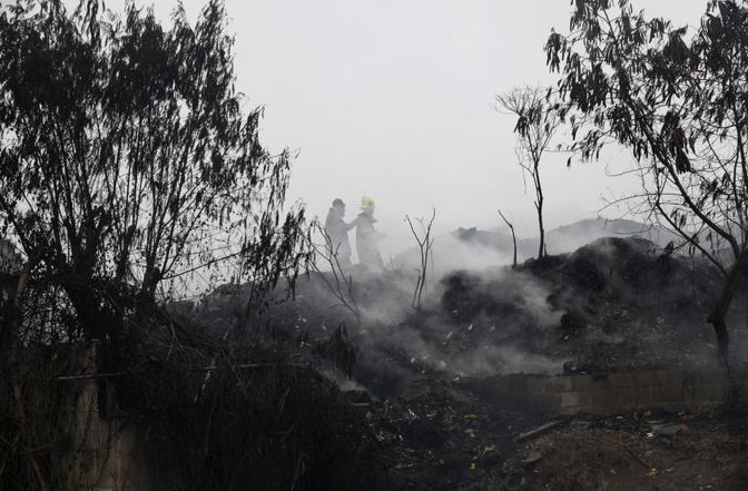 Alcalde de SDN y Ministro de Obras Públicas aseguran incendio de Duquesa fue provocado