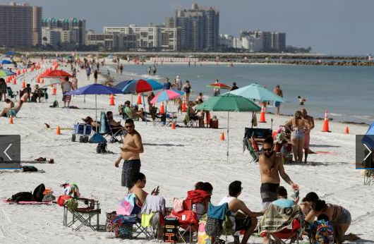 La Florida reabre gradualmente y condados con prohibición también