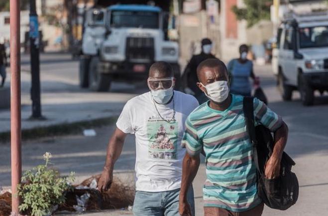 "OPS sobre Haití y COVID-19: ""Se acerca una tormenta"""