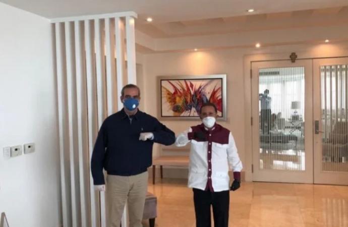 Luis Abinader visitó a Amable Aristy Castro; ¿viene alianza?