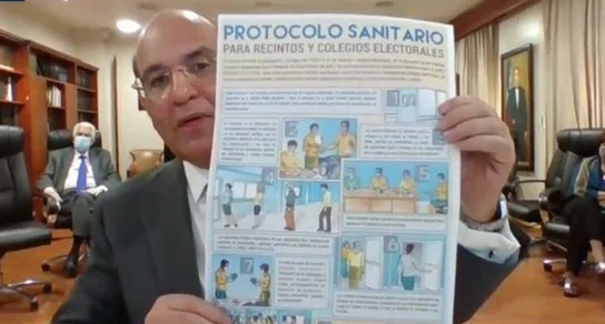 """Castaños Guzmán: """"JCE trabaja a vapor para realizar elecciones 5 de julio"""""""