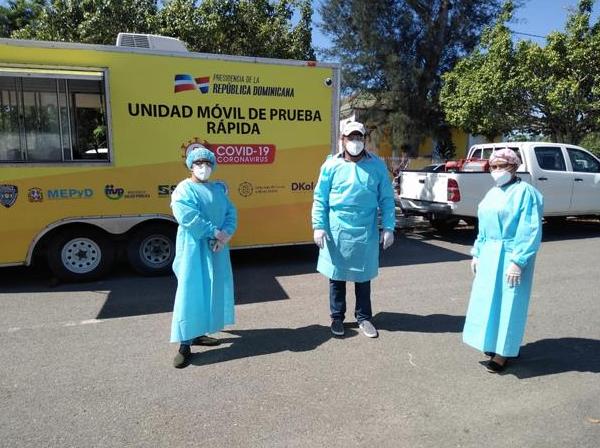 Las cifras de las pruebas rápidas en Pimentel, según Salud Pública