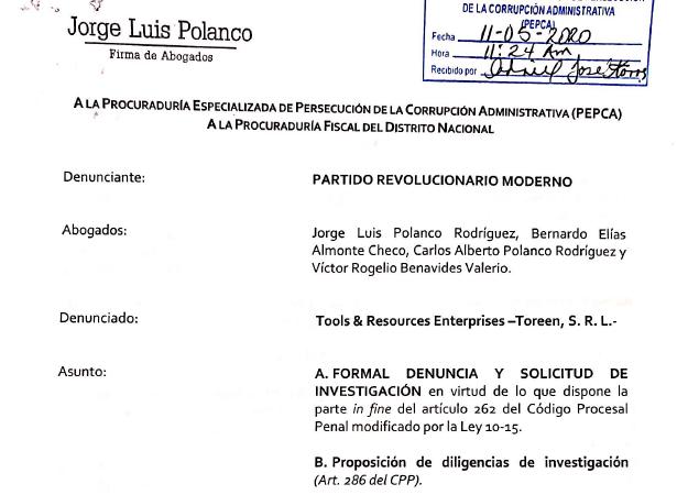 Otro gran escándalo de corrupción en el gobierno de Danilo Medina.