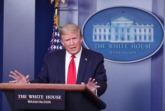 Trump afirma que estudia retomar parte de la financiación de EEUU a la OMS