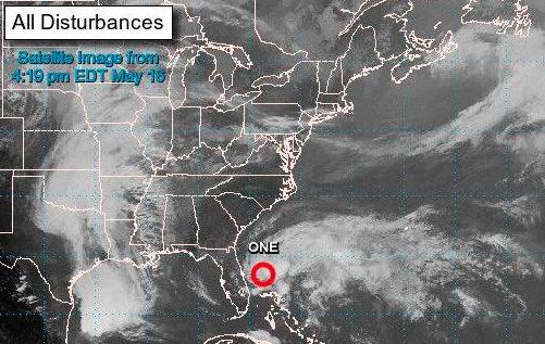 Se forma la primera depresión tropical de la cuenca atlántica
