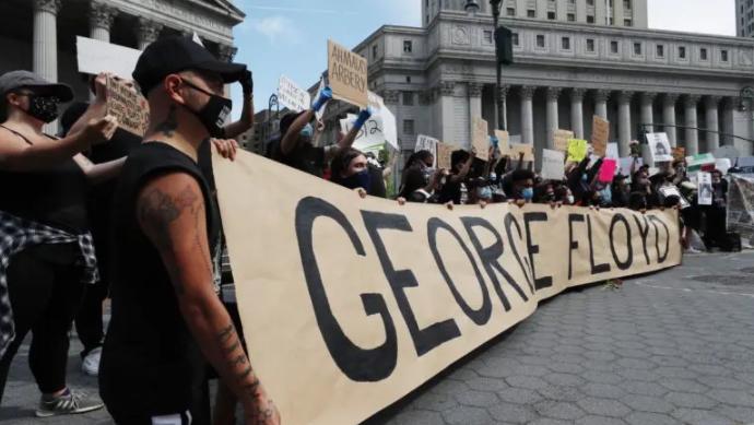 El alcalde de Nueva York pide calma tras las protestas por la muerte de Floyd