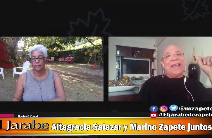 Altagracia Salazar y Marino Zapete juntos | El Jarabe Seg-2 11/05/20