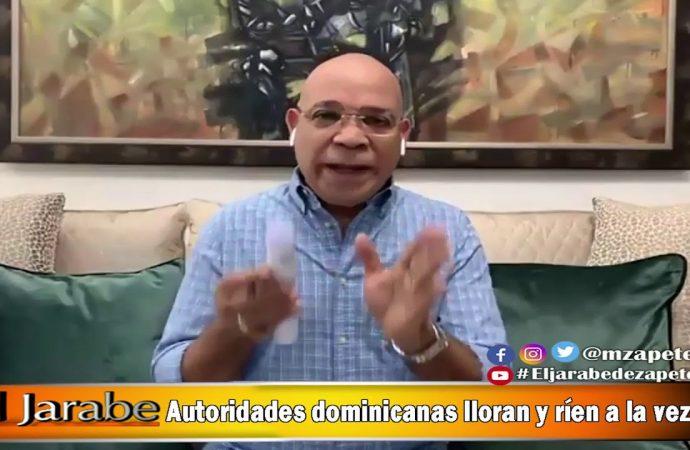 Autoridades dominicanas lloran y rien a la vez   El Jarabe Seg-2 08/05/20