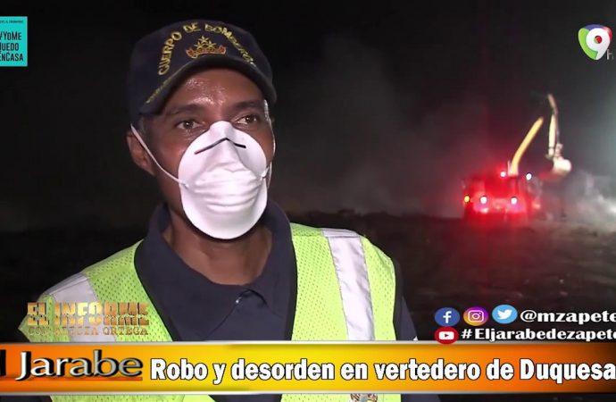 Robo y desorden en vertedero de Duquesa | El Jarabe Seg-3 13/05/20