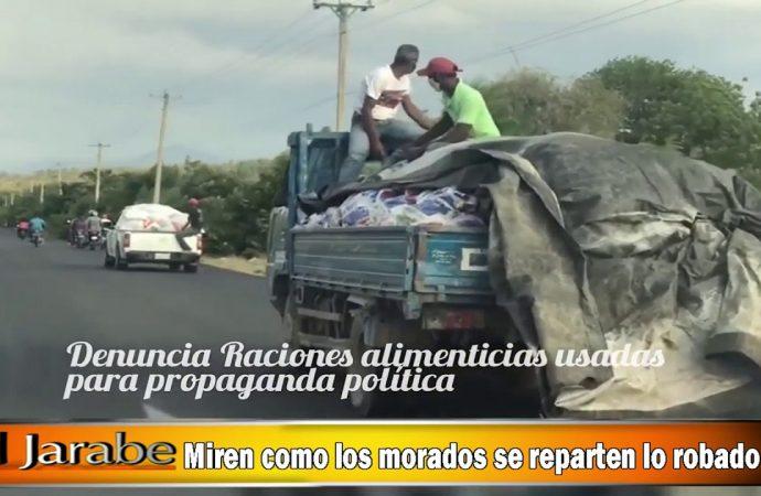 Miren como los morados se reparten lo robado   El Jarabe Seg-3 08/05/20