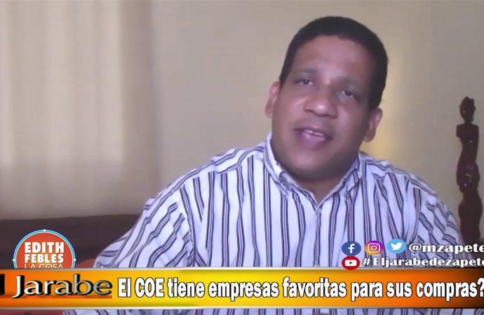 El COE tiene empresas favoritas para sus compras?   El Jarabe Seg-4 26/05/20