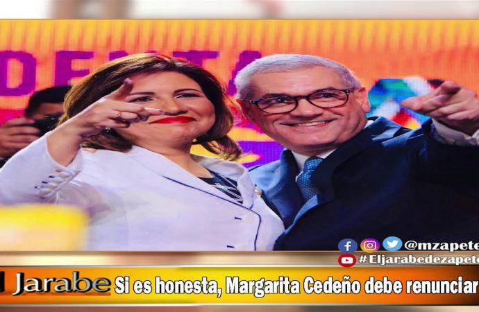 Si se honesta, Margarita Cedeño debe renunciar   El Jarabe Seg-4 29/05/20