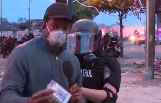 Arrestan periodista de CNN mientras cubría protesta por muerte de George Floyd