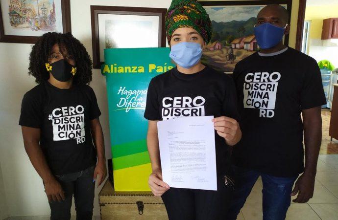 CeroDiscriminaciónRD entrega 15 mil firmas rechazan desigualdad y racismo en República Dominicana