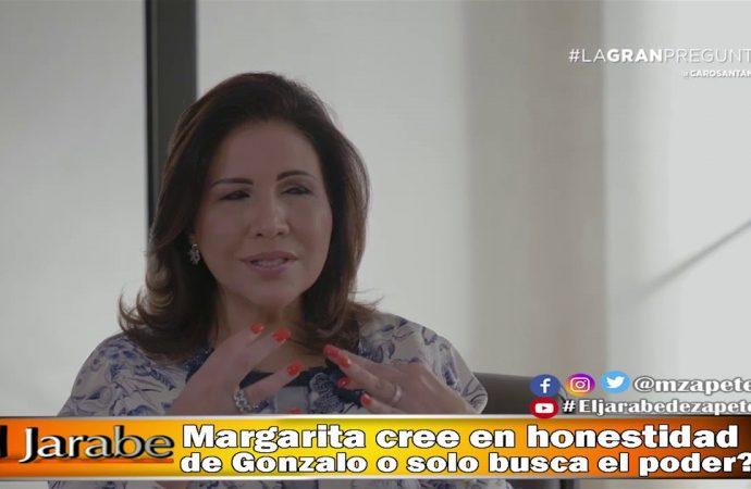Margarita cree en honestidad de Gonzalo o solo busca el poder?   El Jarabe Seg-2 02/06/20