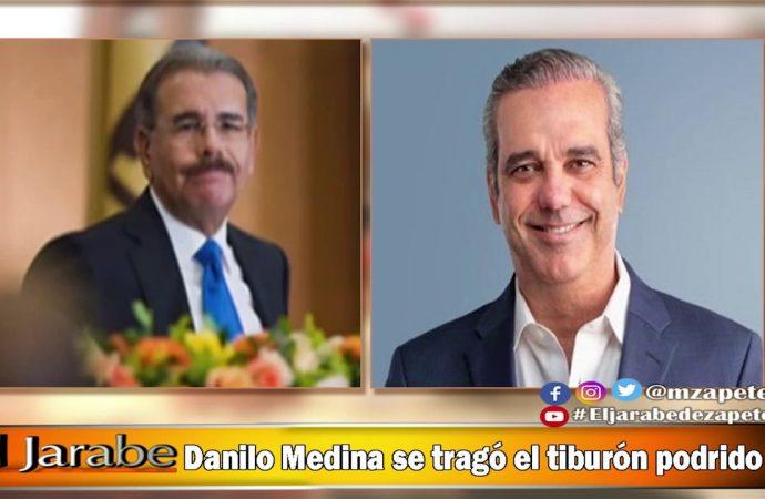 Danilo Medina se tragó el tiburón podrido | El Jarabe Seg-4 16/06/20