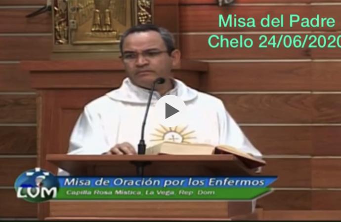 Estás son las palabras del padre  Chelo