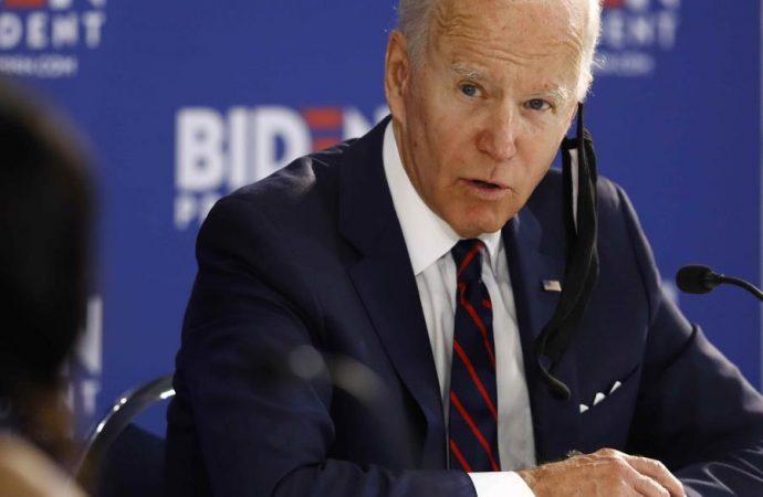 """Joe Biden dice que Trump pudiera tratar de """"robarse"""" las elecciones"""