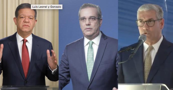 Encuesta: Luis Abinader logra 52.1%, Gonzalo Castillo 34.5% y Fernández (8.2%)