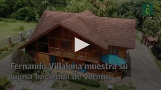 Video | Fernando Villalona muestra su lujosa hacienda producto de 50 años de trabajo