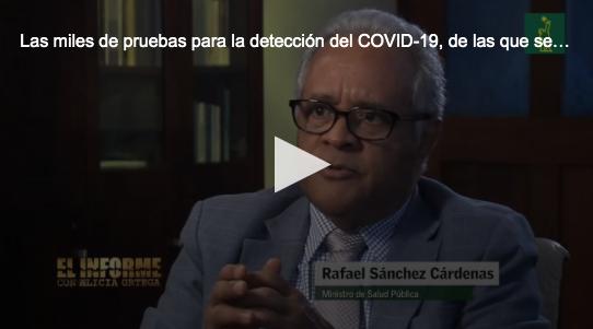 Salud Pública nunca recibió pruebas compradas por Gonzalo Castillo, dice el ministro