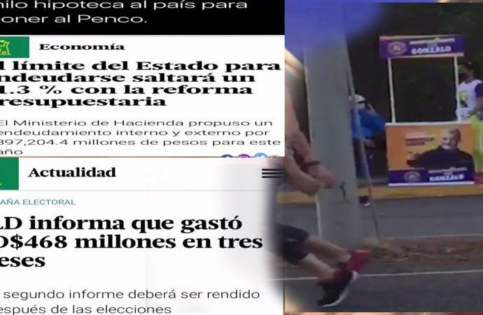 Danilo saqueo al país y no pudo imponer a su Penco   El Jarabe Seg-2 22/06/20