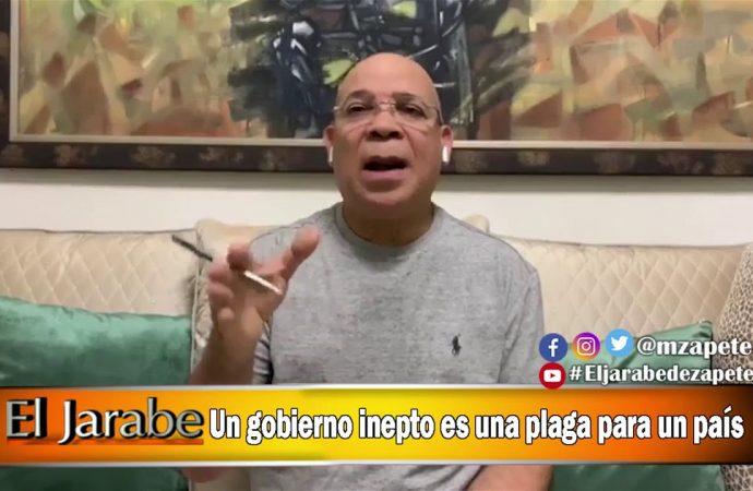 Un gobierno inepto es una plaga para un país | El Jarabe Seg-1 06/04/20